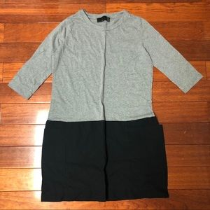 Zara Color-blocked Dress